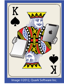 Quark Print-Mobile Playing Card
